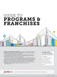 2021 Guide to Programs and Franchises